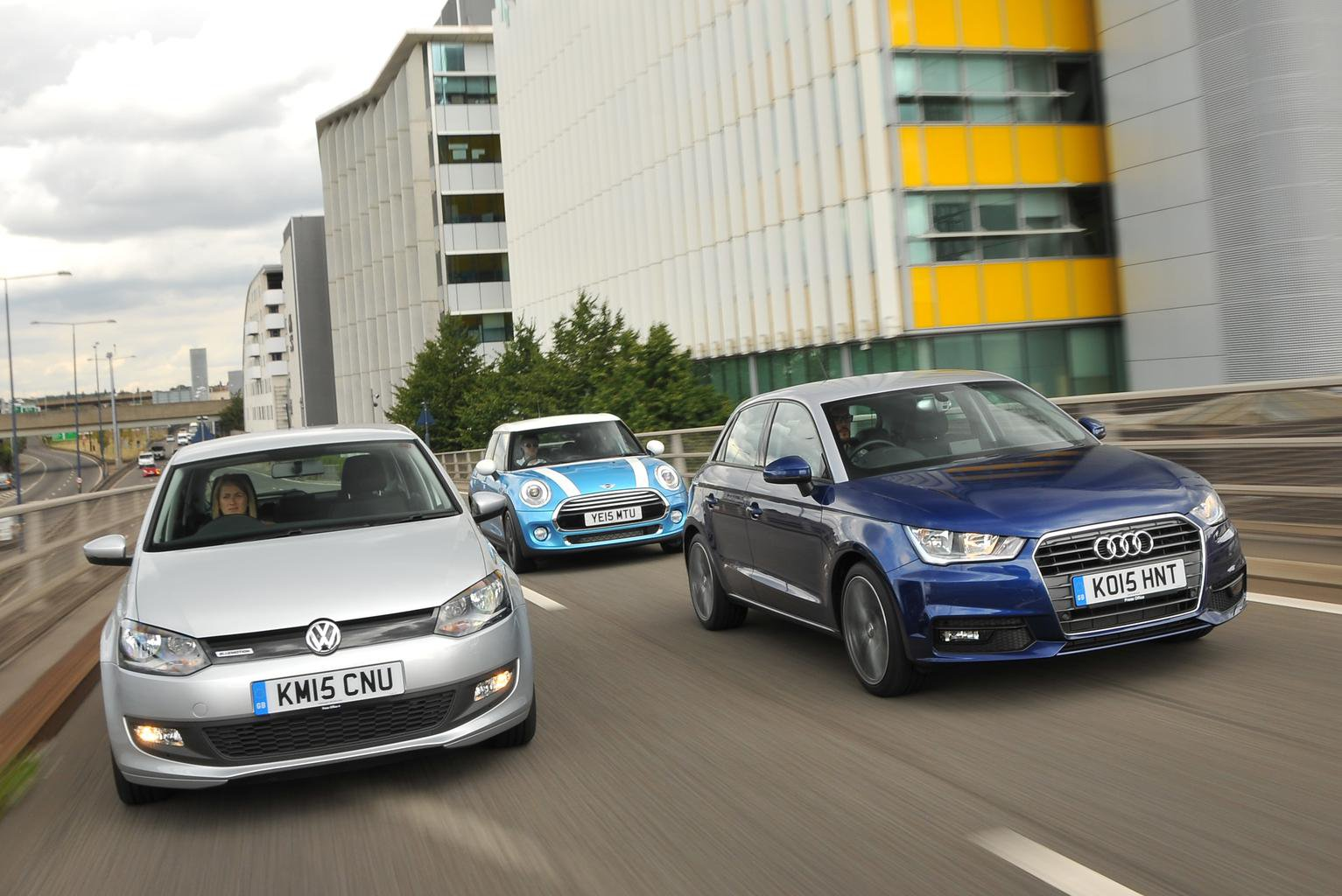 Audi A1 vs Mini Hatch vs Volkswagen Polo