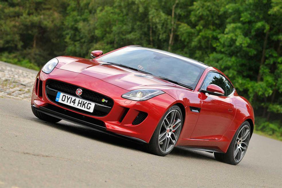 2014 Jaguar F-type Coupe R review