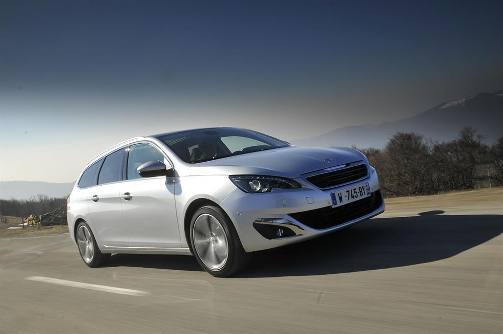 2014 Peugeot 308 SW review