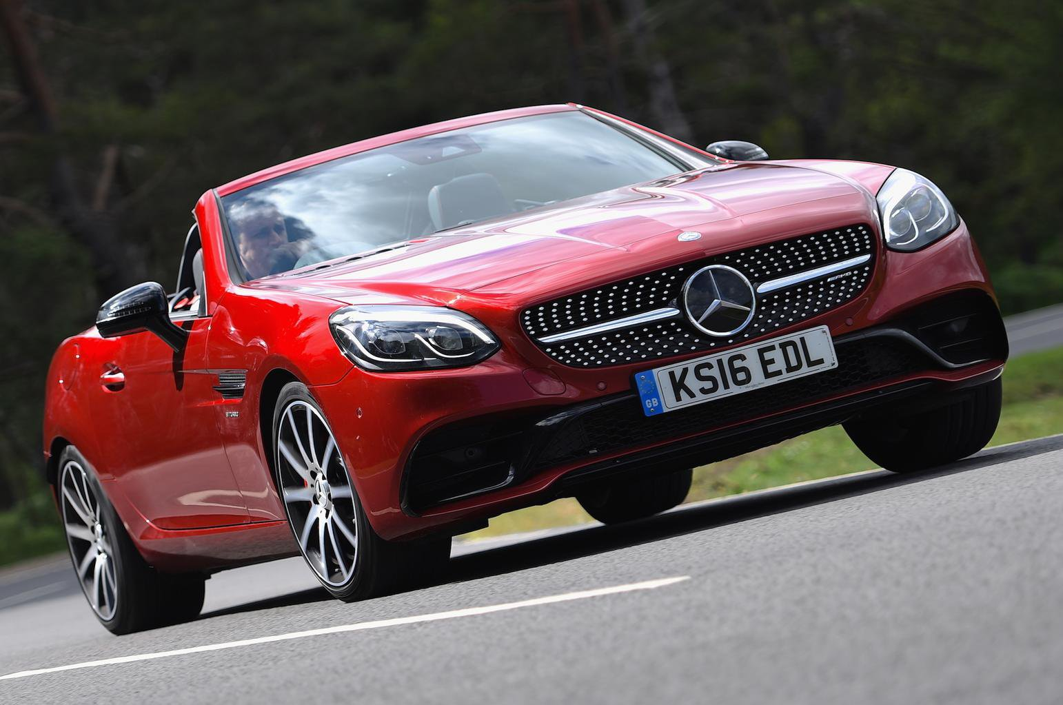 2016 Mercedes-AMG SLC 43 review