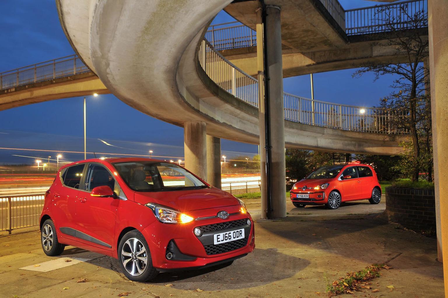 New Hyundai i10 vs Volkswagen Up