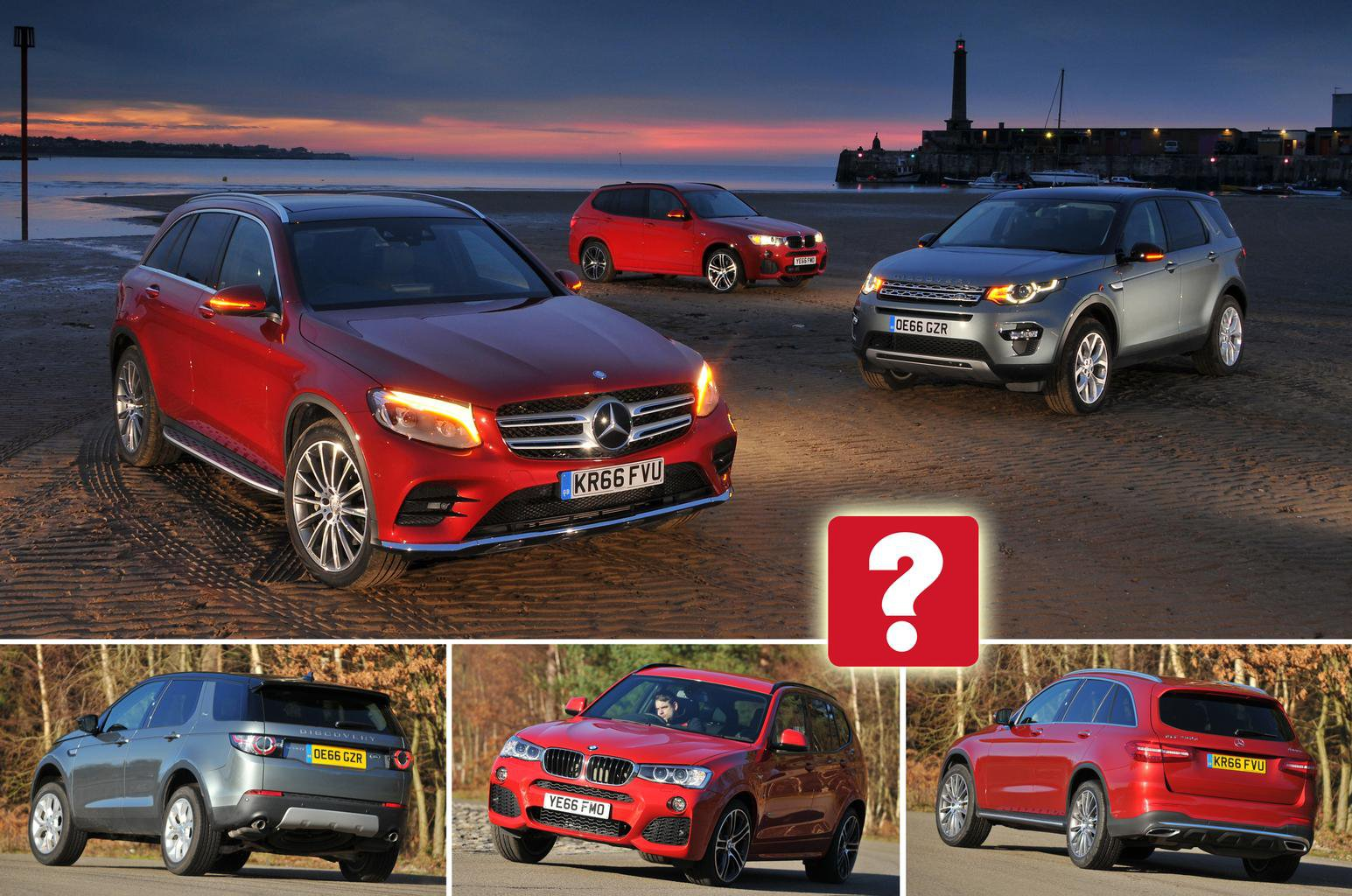 Bmw X3 Vs Land Rover Discovery Sport Vs Mercedes Glc What Car