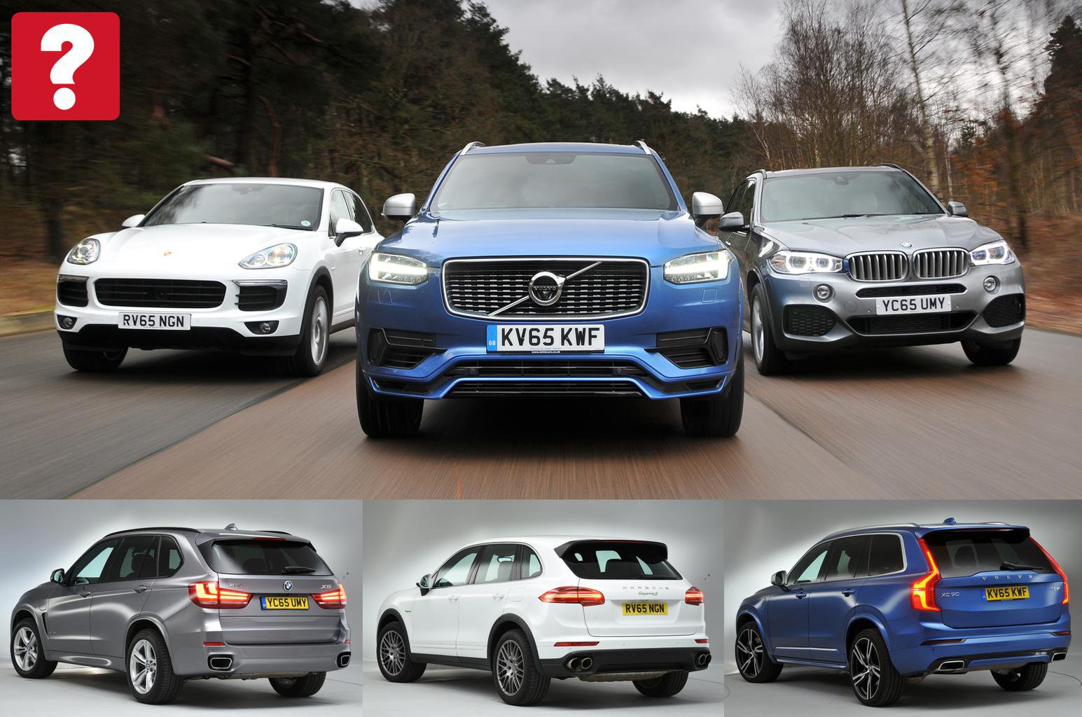 Bmw X5 Vs Porsche Cayenne Vs Volvo Xc90 What Car