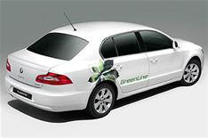 Low-emission Skoda Superb launched