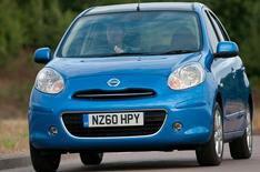 Nissan Micra: first UK test