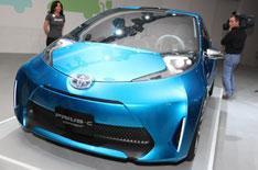 Toyota Prius C and Prius V