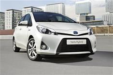 2012 Toyota Yaris Hybrid review