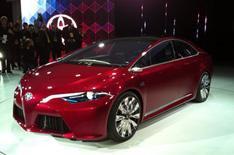 Detroit motor show 2012: Toyota NS4