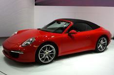 Detroit 2012: Porsche 911 Cabriolet
