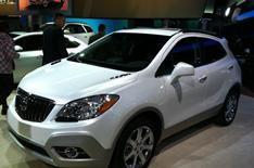 Detroit motor show 2012: Buick Encore