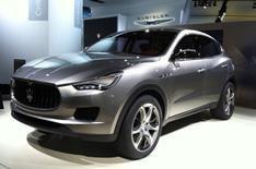 Detroit motor show 2012: Maserati Kubang