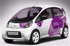 Citroen's C-Zero electric city car