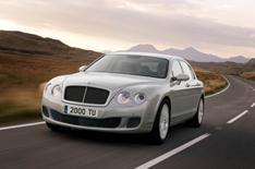 Driven: Bentley's high-speed limousine