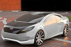 Kia unveils 'Ray' plug-in hybrid