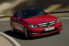 New Mercedes C-Class Coupe revealed