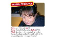 Bargain boot space