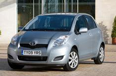 Toyota Yaris TR trim upgraded