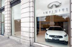 Infiniti opens London showroom