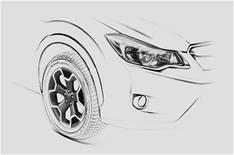 Subaru XV set for Frankfurt motor show