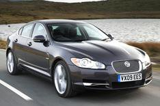 Jaguar XF: driven