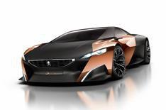 Peugeot Onyx concept car revealed