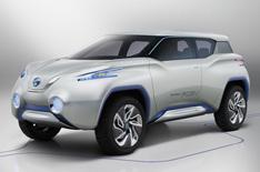 Nissan Terra concept car revealed