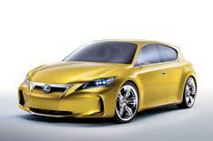Lexus LF-Ch: more details