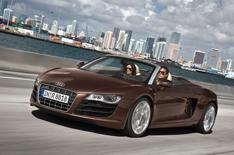 Audi R8 Spyder pics leaked