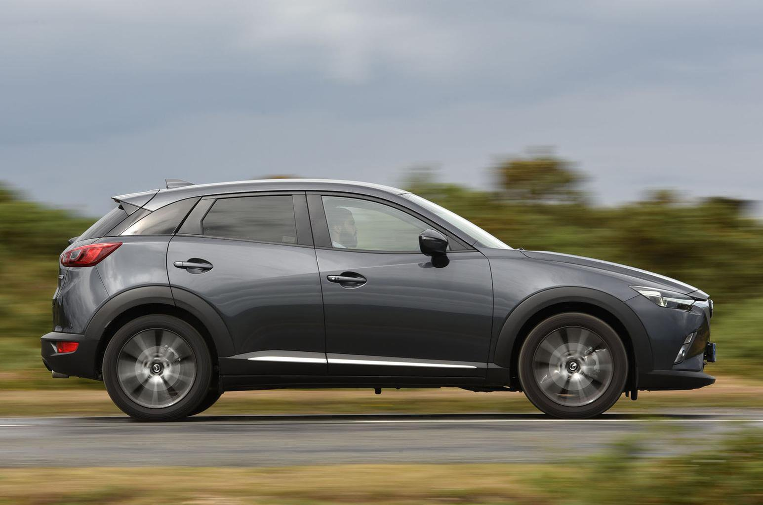 Honda HR-V vs Mazda CX-3 vs Nissan Qashqai