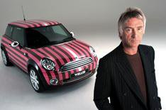 Paul Weller designs Mini Cooper