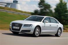 Long-wheelbase Audi A8 arrives