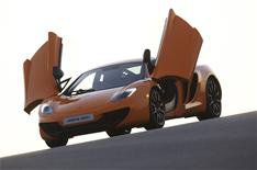 McLaren MP4-12C to cost 168,500 Nov 10