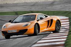 McLaren MP4-12C performance stats