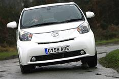 Toyota iQ gets more power