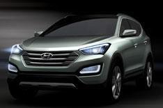 2012 Hyundai Santa Fe revealed