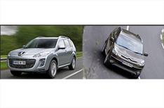 Citroen and Peugeot SUVs go auto