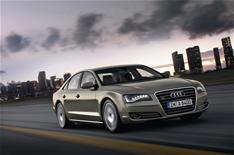 Audi A8 hybrid on show at Geneva
