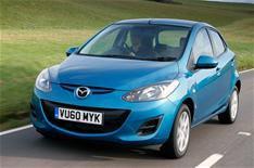 Mazda 2 and 6 CO2 emissions cut