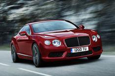 Bentley Continental V8 models revealed