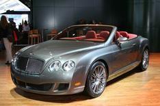 3. Bentley GTC Speed Convertible