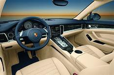 Inside the Porsche Panamera