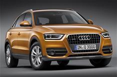 Audi Q3 revealed, April 2011
