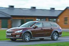 2012 Peugeot 508 RXH UK review