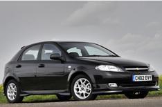 Chevrolet's special-edition Lacetti