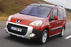 First drive: Peugeot Partner Tepee