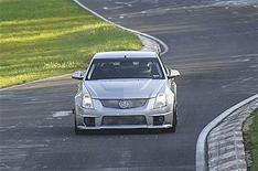 Cadillac CTS-V sets track record