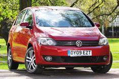 VW launches Golf Plus Bluemotion