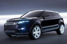 Land Rover looks to the future