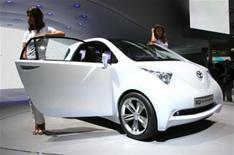 Toyota's dinky city car