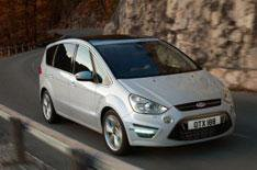 New Ford S-Max and Galaxy on show